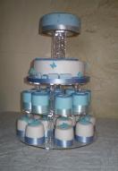 Baby Boy Mini Cake 2