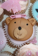 Teddy Cupcake