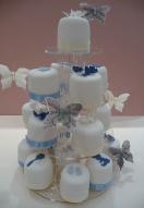 baby Boy Mini Cakes