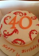 Red Swirl 40