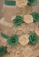 Mint Green & ivory