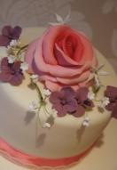 Rose, Hydrangea