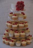 2 Tone Pink Rose Bud Cupcakes