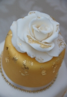 Royal Gold Leaf Rose