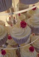 Rose Bud Swirl Cupcakes