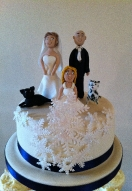 Bride & Groom Toppers