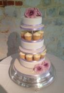 Dusky Rose & Cupcakes