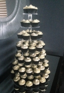 Monotone Cupcake Tower