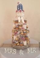 Birdcage cupcakes