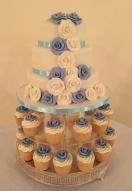 Cornflour Blue Cupcakes