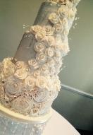 Frill rose cascade