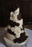 Ivory & Chocolate Cascade